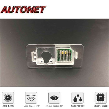 AUTONET HD Night Vision Backup Rear View camera or Bracket For BMW E38 E39 E46 E60 E61 E65 E66 E90 E91 E92 X3 X4 X5 X6 2014~2016 image