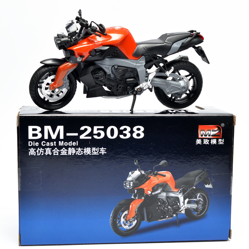 Legering simulering motorcykel leksak, dekorativ motorcykel modell. - Bilar och fordon - Foto 5