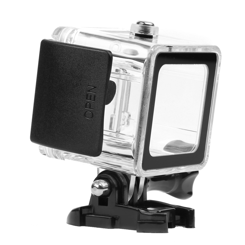 SHOOT 40m Diving Waterproof Case for Gopro Hero 6 5 4 Session Camera Go Pro Underwater Housing Case for GoPro Session Accessory for gopro hero6 5 accessories 30m waterproof housing underwater diving case red filter for gopro hero 6 5 camera mount