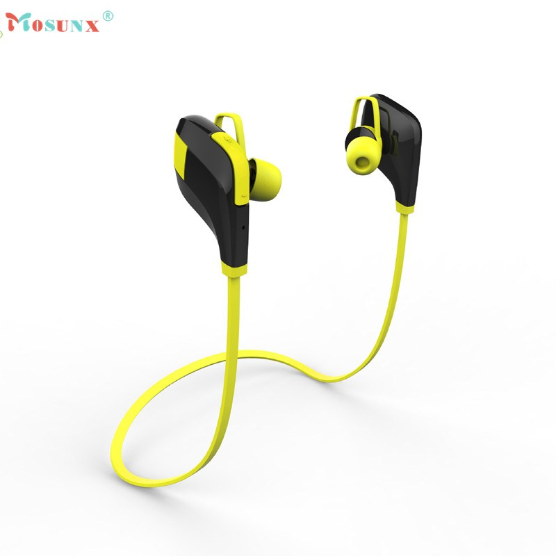 Superior Quality Mosunx 2017 In-ear Wireless Bluetooth Stereo Headphones Hands Free Sports Earphone AU19