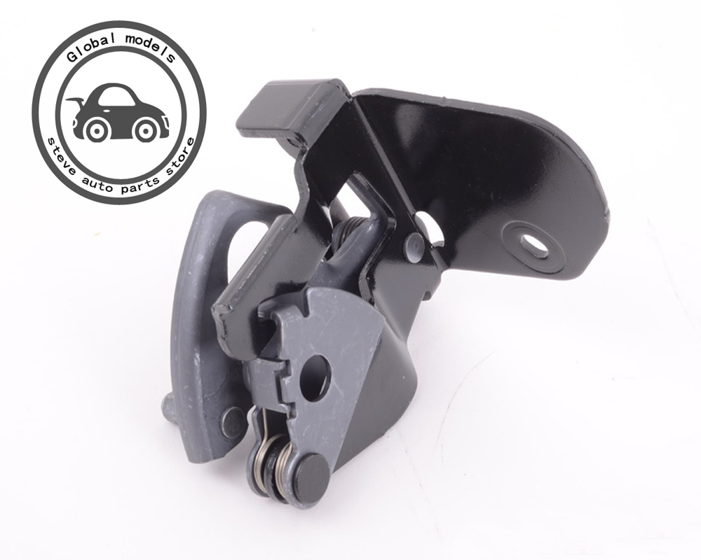 Mercedes W203 Hood Safety Hook KIT latch spring lock 3 Pieces pull handle