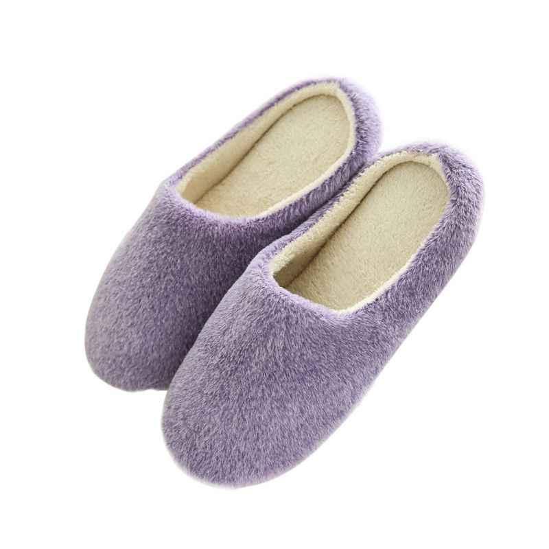 Mulheres Inverno Quente Ful Chinelos Mulheres Chinelos Amantes Chinelos Em Casa Chinelos Interior Sapatos Casa De Algodão Ovelhas Mulher 37-43