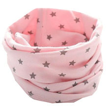 Warm Cotton Warm Baby Scarf Winter Children Scarves Baby Neck Collars Boys Girls O Ring Scarf Lovely Kids Collars(China)