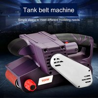 Portable Multi Function polishing Machine 200 V/50 60 HZ 160 340r/min 900 W Electric Desktop Belt grinder Machine Household