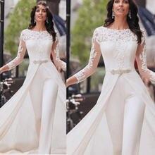 Женское вечернее платье с длинным рукавом белое официальное