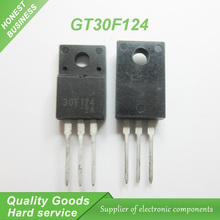 Free shipping 10pcs/lot GT30F124 30F124 TO-220F new original free shipping 10pcs lot tk13a60d k13a60d n channel to 220f new original