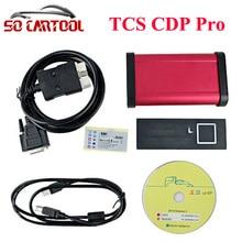 2016. R0/2015,3 программного обеспечения! Красный Интерфейс TCS CDP Pro с Bluetooth для самосвалов и тачки 3 в 1 + коробка Бесплатная доставка