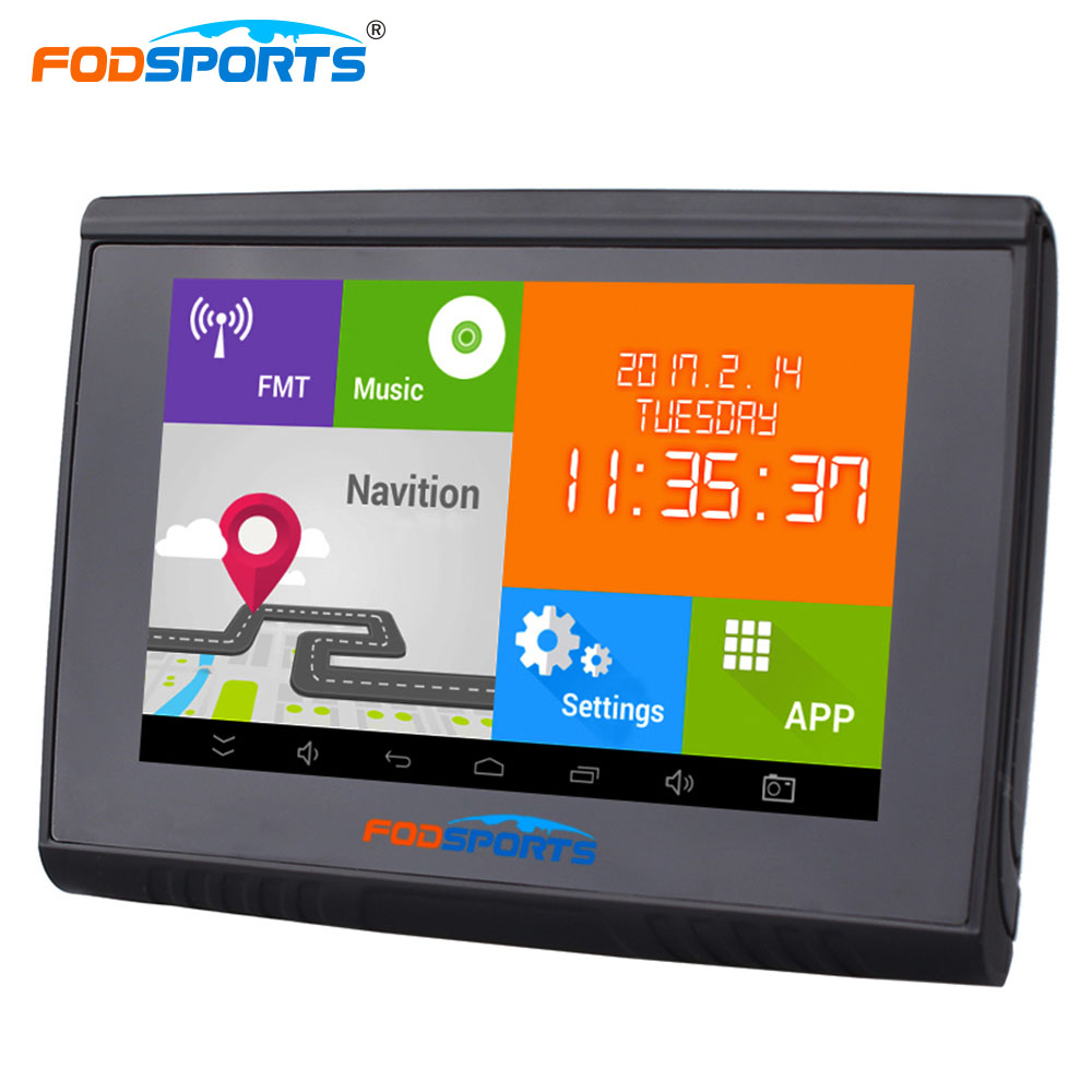 Fodsports 5,0 hüvelykes Android 4.4.2 motorkerékpár GPS - Autóelektronika