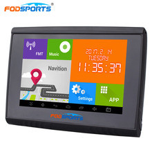 2017 Newest Android 4.4 8g 512M Ram HD Screen FM 5'' Waterproof IPX5 Bluetooth GPS Navigator for Motorcycle 3 5 f350 ce6 0 waterproof motorcycle gps navigator