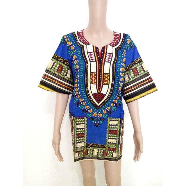 Afrikanischen Dashiki Mens Shirt Plus Größe Blau Afrikanische ...