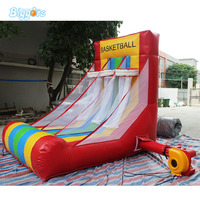 Inflatable Basketball Stand Inflatable Sports Game For Kids Playing Game