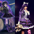 LOL Gothic Lolita Annie Dress Uniform Maid Outfit Anime Cosplay Costumes