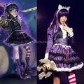 Lol готическая лолита энни платье форма наряд горничной аниме косплей костюмы