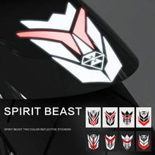 1 Piece Car Motorcycle Sticker Reflective Creative Personality Modified Waterproof Decoration Decal
