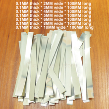 100g/bag Spot weldable nickel plated steel belt 18650 battery welded strap 0.1MM thick