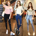 Ripped Jeans For Women New High Waist Jeans Denim Skinny Jeans Woman  Pantalon Femme Pencil Pants