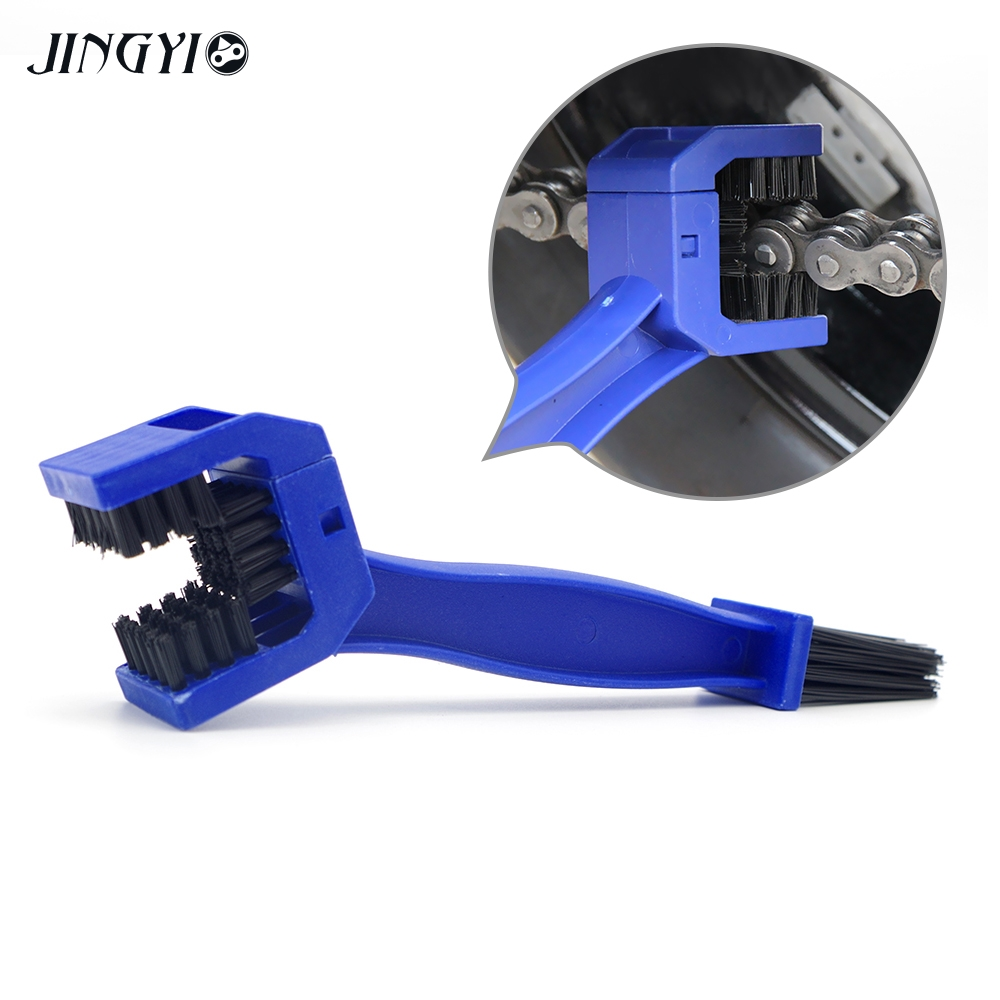 Moto Chain Brush Accessory Kit Part Motorcycle Chain Cleaner For zx10r fz1 ktm exc vespa triumph tiger 800 image