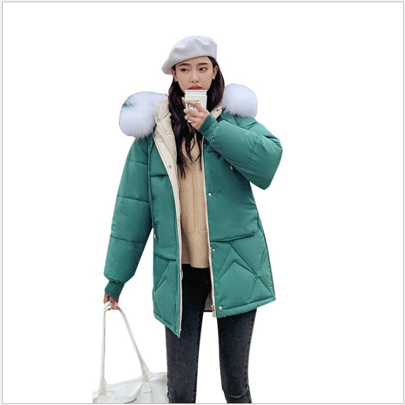 New Women's Jackets   Parkas   mujer 2018 Winter Jacket Women Warm   Parka   female Thick Solid Winter Woman Coat Plus Size Z59