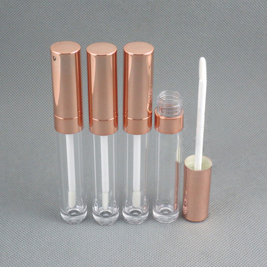 100pcs/lot 6ml AS high quality round lipgloss bottle tube, lipgloss container, lipgloss vial image
