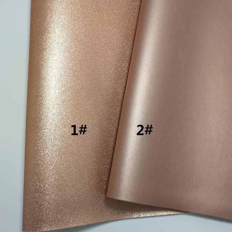 1 PC 21X29 CM Rose Gold Chunky Long Lanh Da Cho Làm Cung Phụ Kiện LEOsyntheticoDIY S241