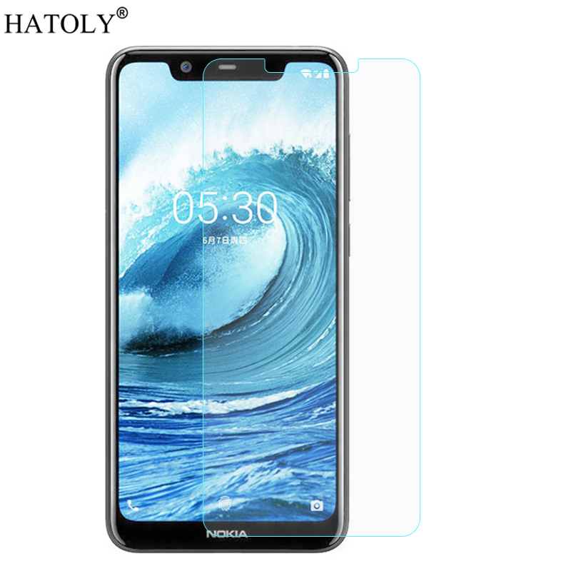For Tempered Glass Nokia 5.1 Plus Glass Protective Film Screen Protector for Nokia 5.1 Plus Tempered Glass for Nokia 5.1 Plus