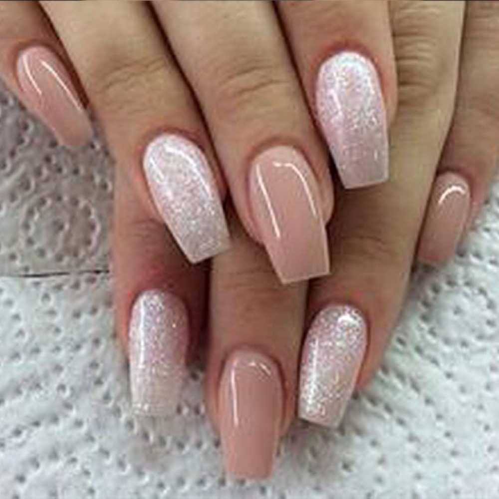 500pcs Fashion Fake Nails Press On Girls Finger Beauty False Nail ...