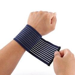 Фитнес-браслет из хлопка, спортивный ремешок для защиты запястья