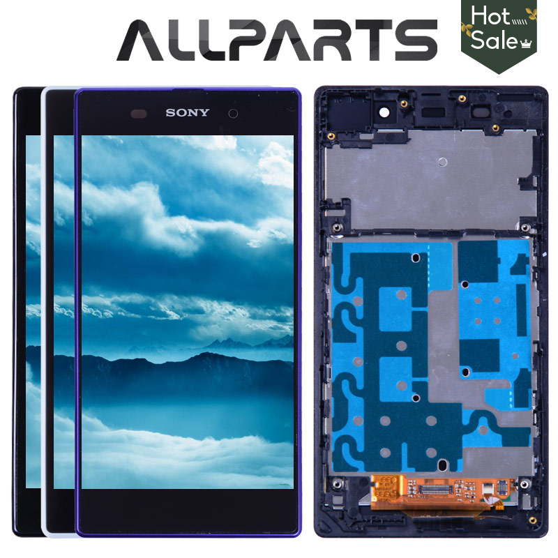 No Dead Pixel 5.0 Original for SONY Z1 Display C6903 L39H LCD For SONY Xperia Z1 LCD Display Touch Screen Digitizer