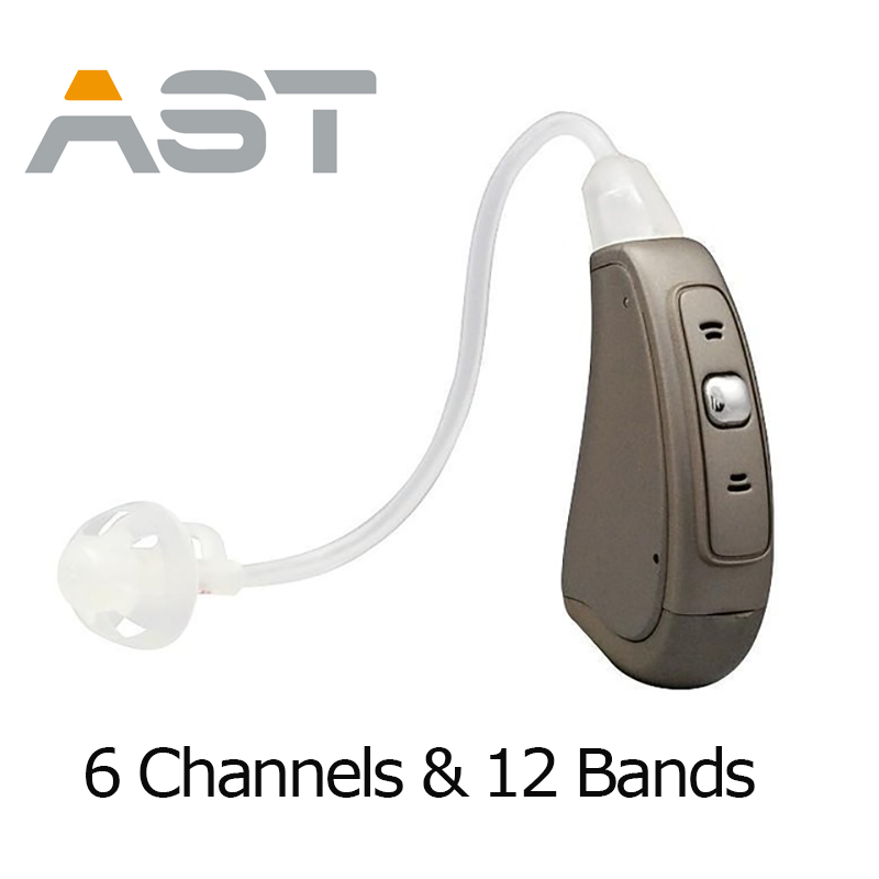 AST DHL Free Shipping Digital Manual Control BTE digital hearing aids digital hearing aid hearing device EP07 OE hearing aid