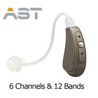 DHL Бесплатная доставка цифровой Ручной Управление БТЭ цифровой слуховые аппараты цифровой слуховой аппарат EP07 OE слуховой аппарат