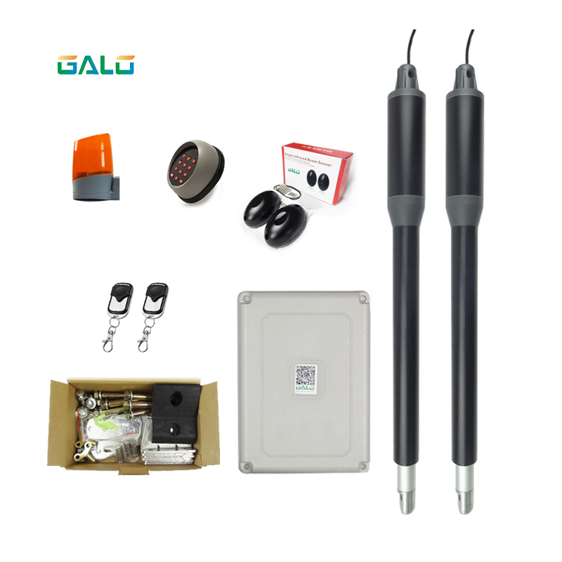 Optional Automatic dual arms electric swing door gate Opener Operator Motor actuator closer swing gate opener for access contro in Access Control Kits from Security Protection