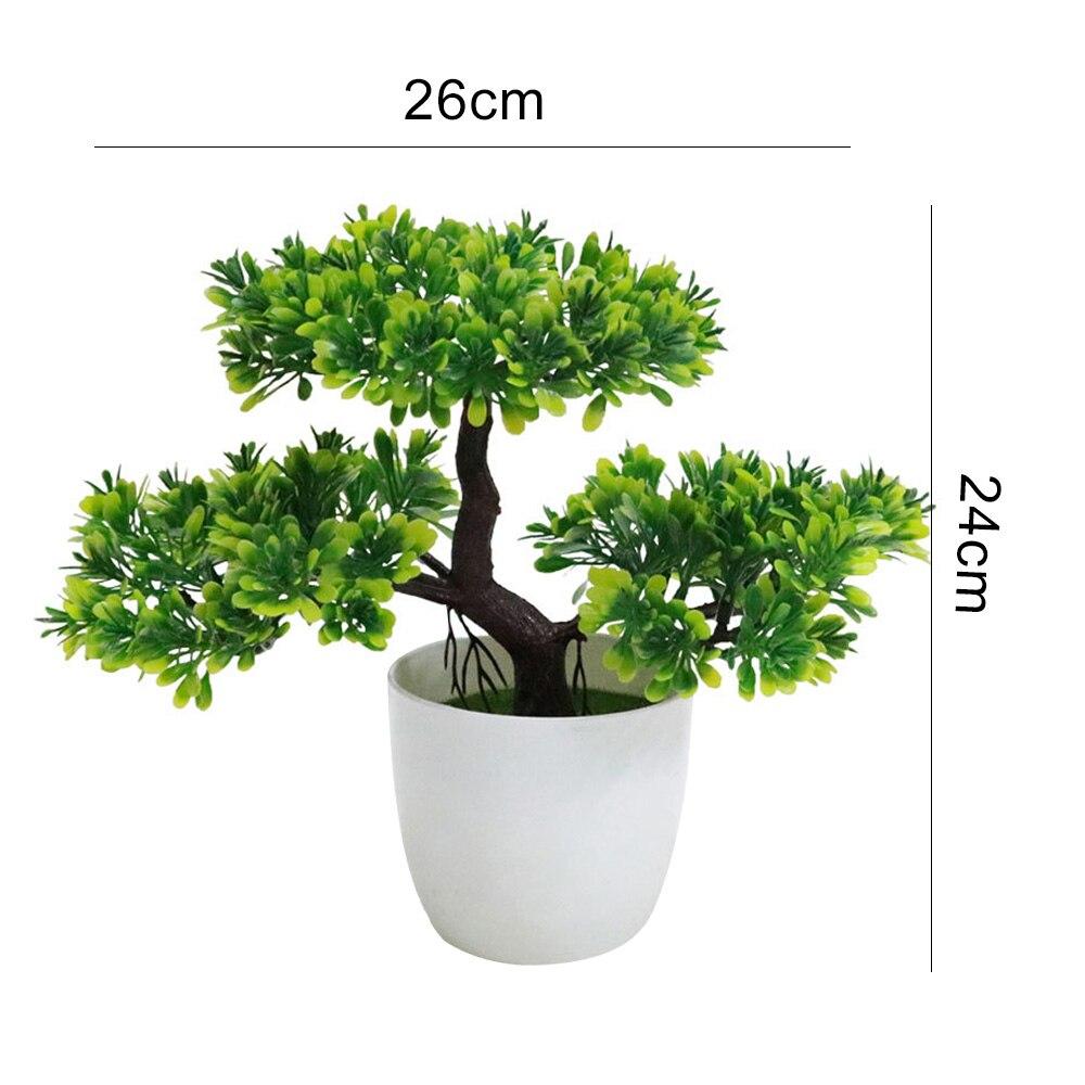 Искусственный бонсаи искусственные растения искусственные деревья растения искусственные растения Украшение домашний декор Мода Красивый балкон Ganoderma Lucidum