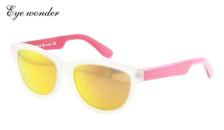 96917432b6 Ojo maravilla mujeres calientes UV400 polarizado revestimiento Gafas de sol  mujer conducción espejo gafas Sol Gafas para hombres con caja