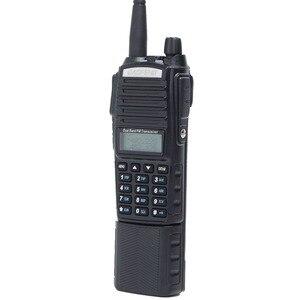 Image 5 - Baofeng UV 82 artı 8W yüksek güç 3800mAh pil ile DC konektörü walkie talkie uzun menzilli radyo Ham taşınabilir CB radyo