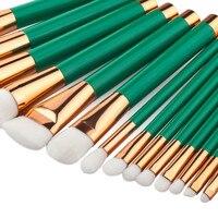 15PCS Cosmetic Makeup Brush Makeup Brush Eyeshadow Brush Premium Full Function Color Brush Base Makeup Portable