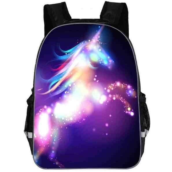 3D мультфильм пони, единорог девочки дети школьные сумки детские плюшевые рюкзаки детская школьная сумка мультфильм дети ранец Mochila детский портфель