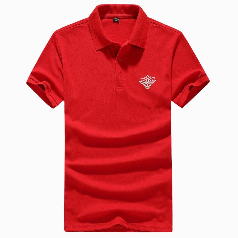 2018 Fashion Summer Men   Polo   Shirt Brand   Polo   Men Camisa Masculina Cotton Turn-down Collar Jerseys Breathable Flower Men   Polo