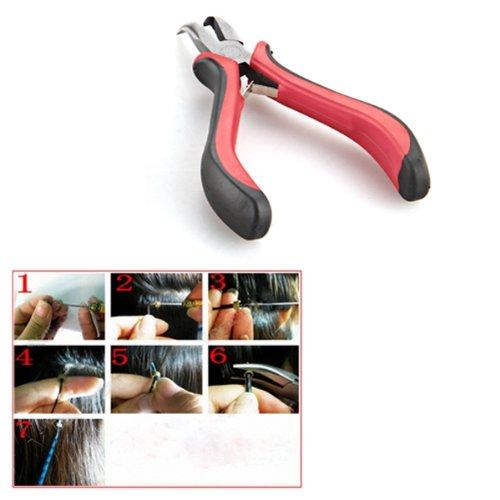 Kit attrezzi per pinza per estensione dei capelli + perline Micro - Utensili manuali - Fotografia 4
