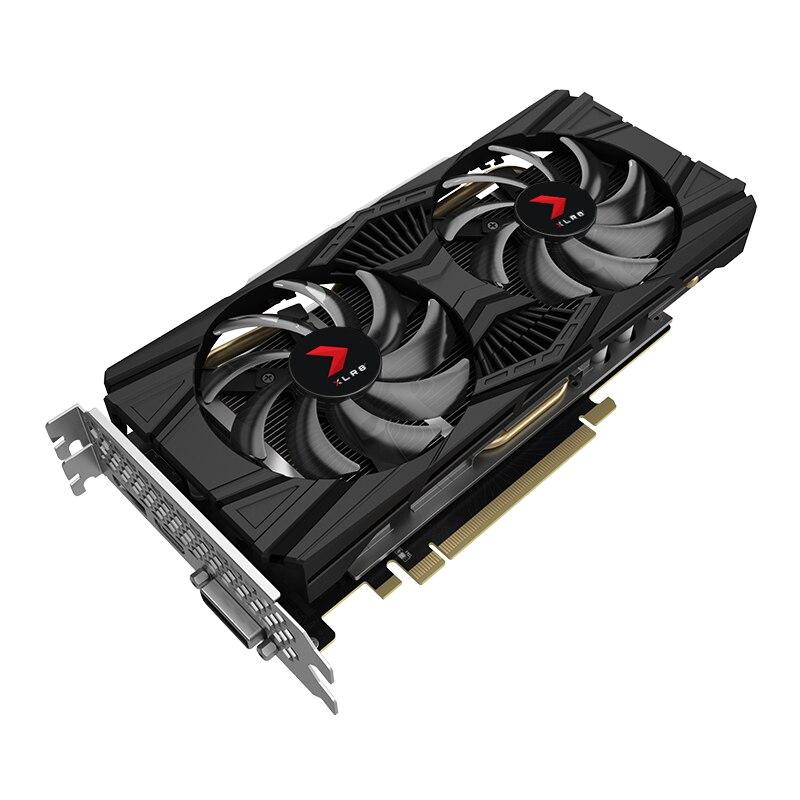 PNY VCG1660T6DFPPB-O, GeForce GTX 1660 Ti, 6 go, GDDR6, 192 bits, 7680x4320 pixels, PCI Express x16 3.0