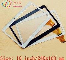 10.1 pulgadas negro blanco pantalla táctil tablet pc vtc5010A28 A3LGTP1000 vtc5010A28-Fpc-1.0 tablilla observando tamaño y color