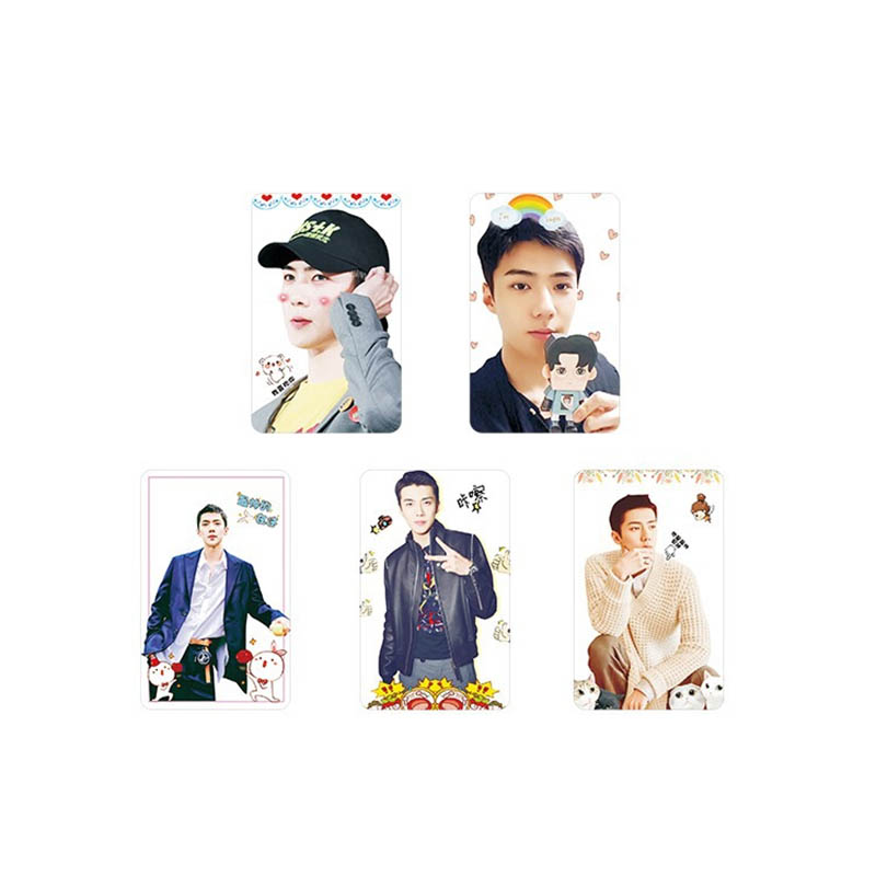 Jewelry & Accessories Youpop Kpop Exo Sehun Album Transparent Photo Card Hip Hop Pvc Cards Self Made Lomo Card Photocard Xk478 Beneficial To Essential Medulla Jewelry Findings & Components
