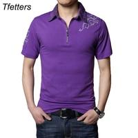 TFETTERS Zomer Hot Casual Tshirt Mannen Zilveren Draak Tattoo Kraag Korte Mouwen Katoenen T-shirt Mannen Tee Shirt Plus 5XL