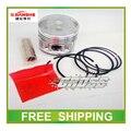 Envío JIANSHE XV250 QJ250-H 250cc anillo de pistón para fosa motocicleta chopper chooper accesorios envío gratis
