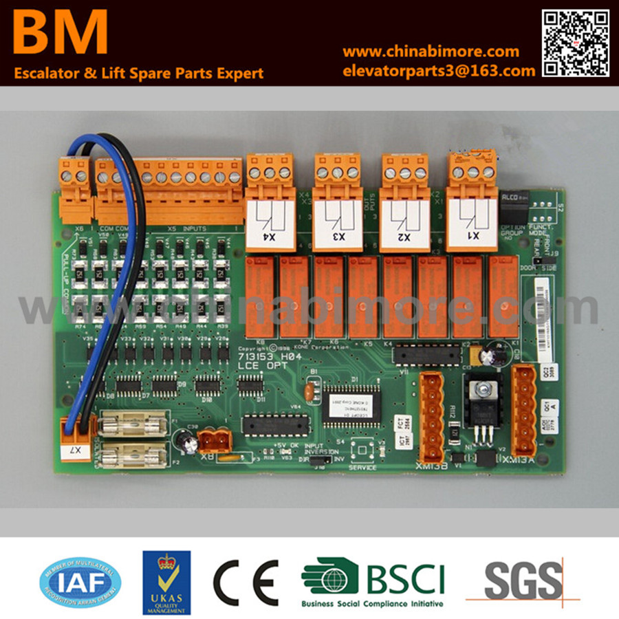 KM713150G11, KM713153H04,Elevator PC Board,LCE OPT 200pcs 0603 1r 1 ohm 5