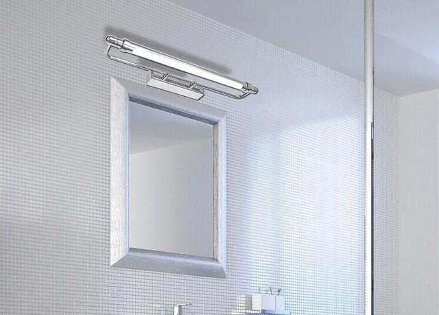 Tradizionale classico metallo argenteo galvanica luce specchio del