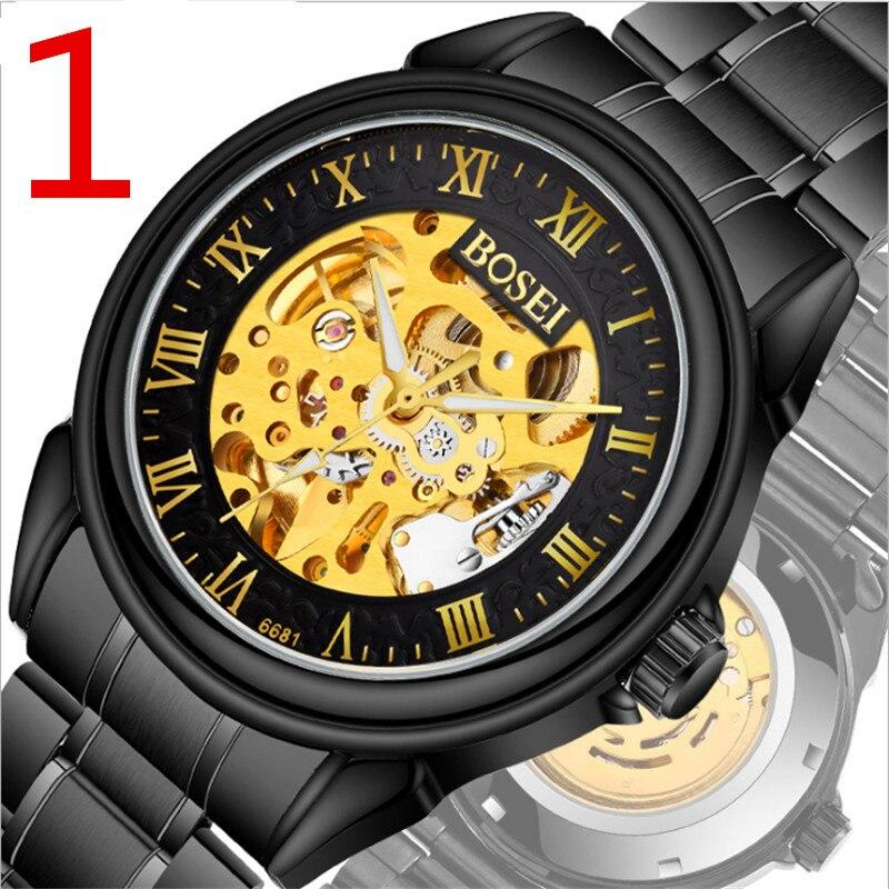 Men's watch automatic mechanical watch The latest fashion quartz watch, high quality waterproof.3 цена