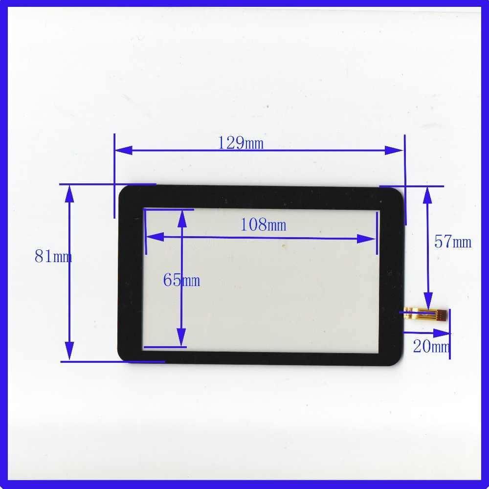 Новый ad2641 5 дюймов Сенсорный экран Панель S 129 мм * 81 мм 4 резистивный сенсорный Панель 129*81 для GPS автомобиля и MP3 MP4 MP5 Бесплатная доставка