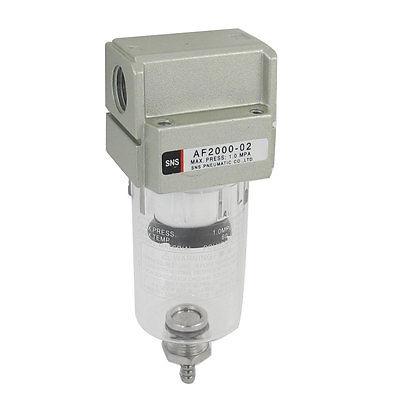 AF2000-02 Compressor Pressure Regulator Pneumatic Air Filter 1/4 Inch PT af4000 04 compressor pressure regulator pneumatic air filter 1 2pt