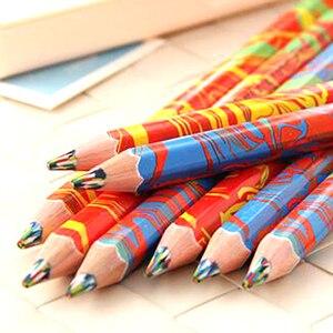 Image 1 - משלוח חינם 20 יח\חבילה מעורב צבעים קשת עיפרון אמנות ציור עפרונות כתיבה סקיצות ילדי גרפיטי ספר עט