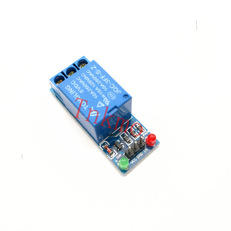 цена на 5V Low Level Trigger One 1 Channel Relay Module DC AC 220V Interface Relay Board Shield LED Indicator for Arduino